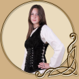 LARP Costume- Sarina Leather Corset